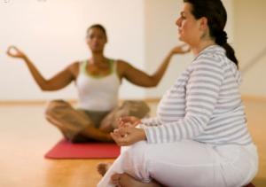 bajar de peso con el yoga
