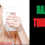 baja de peso con agua
