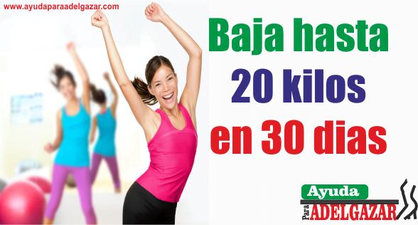 bajar de peso  con ejercicio