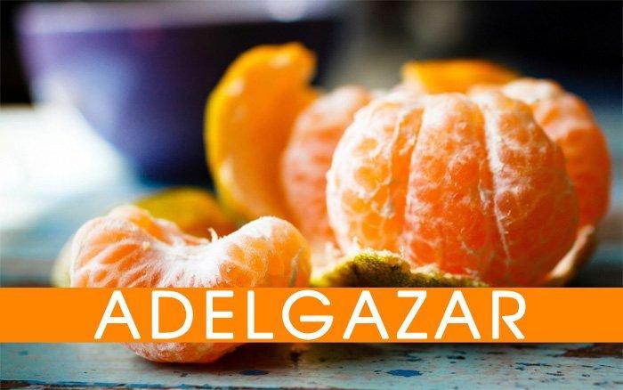 Adelgazar con mandarina