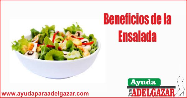 beneficios de la ensalada
