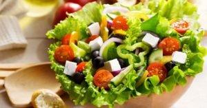 Las ensaladas en tu dieta