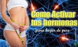 Como activar las hormonas para adelgazar