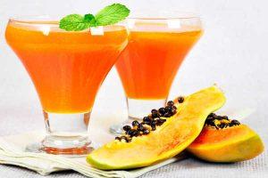 Zumo-de-papaya-para-adelgazar