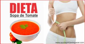 dieta sopa de tomate