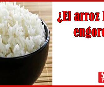 el arroz blanco sube de peso