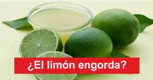 el limon engorda
