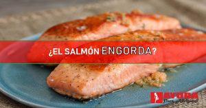 el salmon engorda