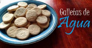 galletas de agua engordan