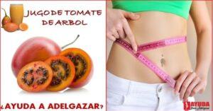 Jugo de tomate en ayunas para adelgazar