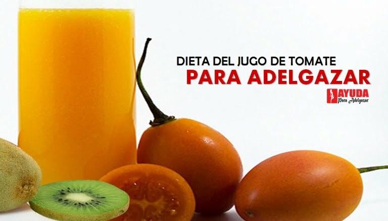 Dieta del jugo de tomate