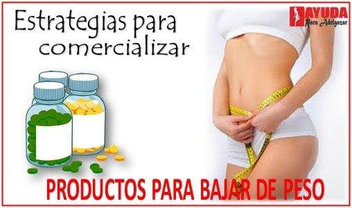 Como promocionar un producto para bajar de peso