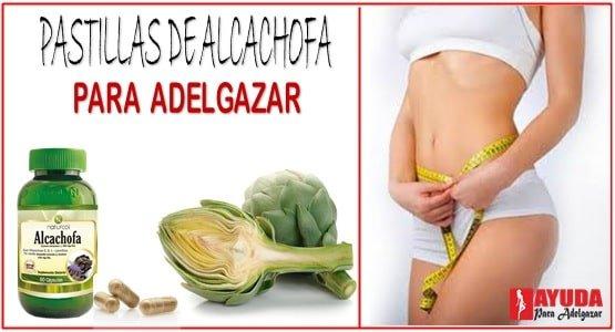 Como tomar las pastillas de alcachofa para adelgazar